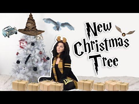 DIY HARRY POTTER CHRISTMAS TREE ⚡️