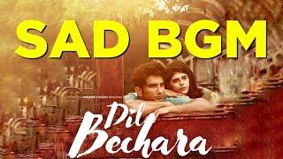 Sad bgm 😢 | Dil Bechara | A R Rahman | Sushant Singh Rajput| Beat box
