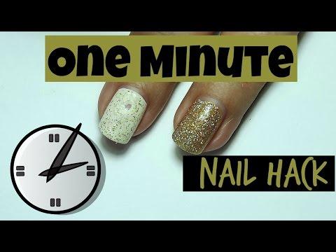 One Minute Nail Hack - How to - Aluminum Foil Method - Linda165