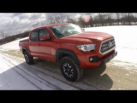 2016 Toyota Tacoma TRD Offroad (6 Speed Manual) - POV First Impressions