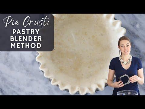 Pie Crust Tutorial: Pastry Blender Method