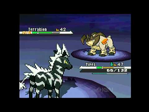 Pokemon Black & White: How to Catch Terrakion