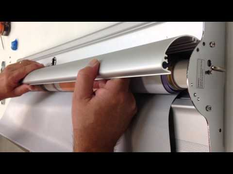 How To Fix A Pull Up Banner