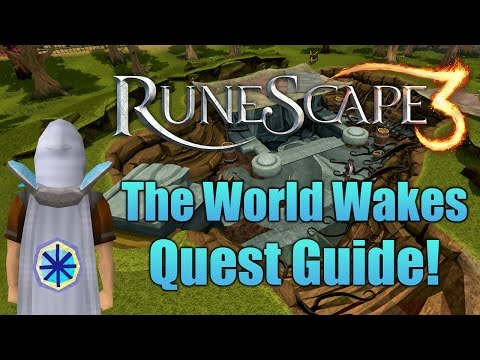 Runescape 3: The World Wakes Quest Guide!