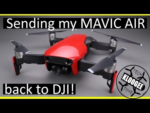 RE-boxing the DJI Mavic Air, Broken on Delivery