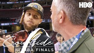 Steph Curry Ranks His Favorite Finals   Courtside at the NBA Finals (2018)   HBO