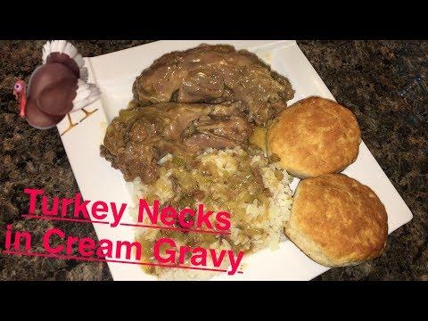 How to Make: Turkey Neck in Cream Gravy
