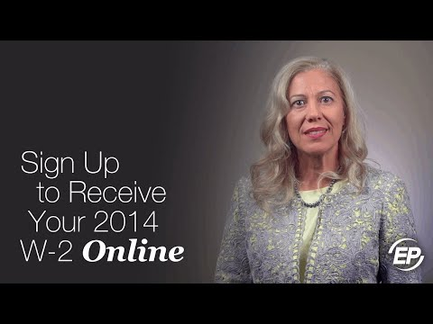 How to Sign Up to Receive Your 2016 W-2 Online