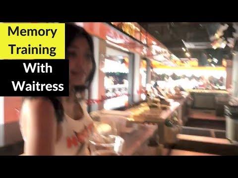 Memory Training with Waitress