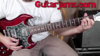 100 Greatest Guitar Riffs Of All Time  (#57 taught in 3 minutes)