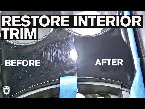 How to Remove Scratches from Interior Trim