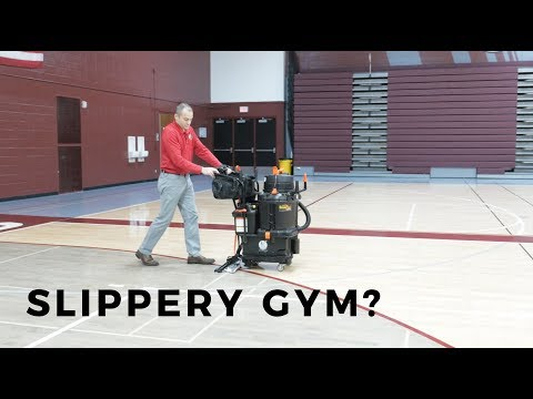 How to fix your slippery gym floor