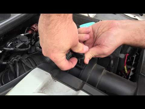 DIY - How to release MK5 and MK6 MAF electrical connector - TDI