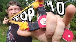 10 Most Awesome Trick Shots With a Slingshot ( Trick Shot Tuesday episode #13)