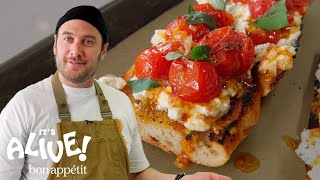 Brad Makes Charred Tomato Toast | It's Alive | Bon Appétit