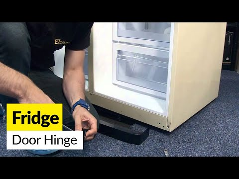 How to Change a Fridge Door Hinge