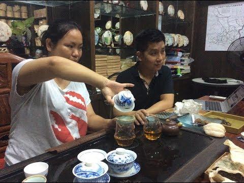 Visiting 'Yiwu Mountain Tea'