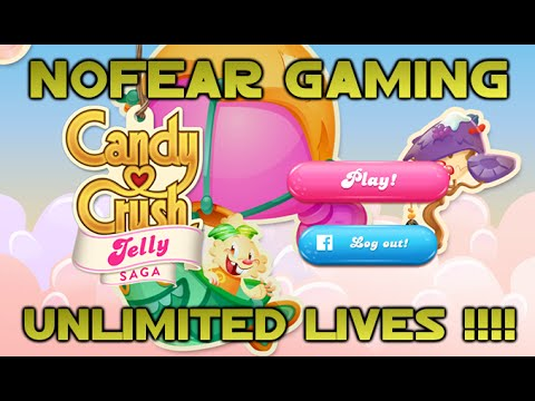 Candy Crush Jelly Saga - Unlimited Hearts Cheat/Exploit !!!!! Android
