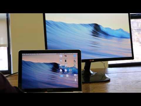 Tech Tips: Connecting a Mac Laptop to an External Display