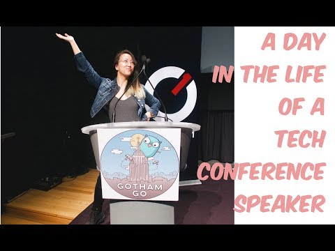 A DAY IN THE LIFE OF A TECH CONFERENCE SPEAKER  || NYC & GOTHAM GO || Amy Codes