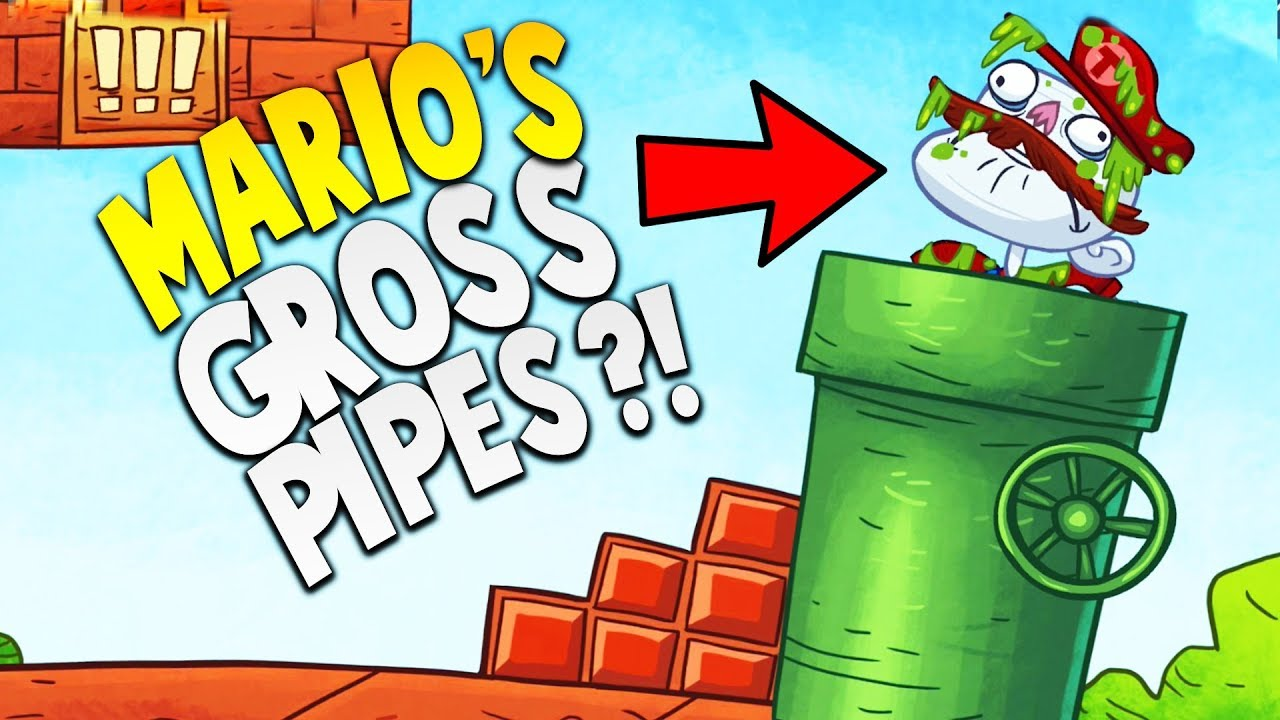 EVER WONDER WHAT'S IN THE SUPER MARIO PIPES...? | Troll Face Quest Video Games Mobile Gameplay
