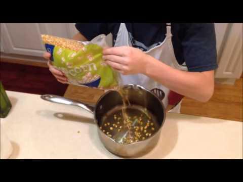 How To Make Popcorn Mrs Haar