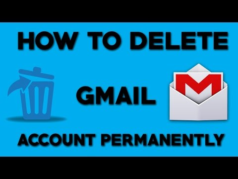 How To Delete Gmail Account Permanently - 2018