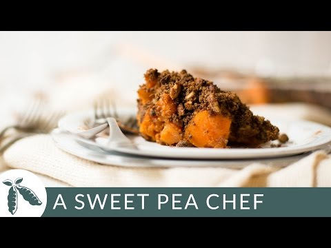 Sweet Potato Casserole - Healthy Casserole | A Sweet Pea Chef