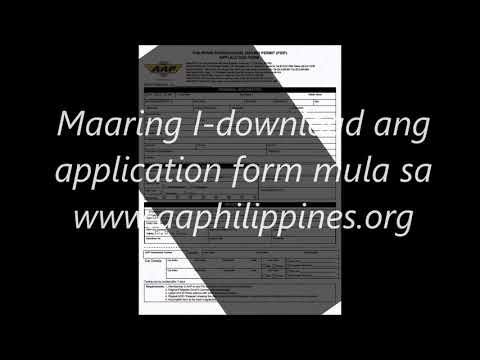 How to apply for Philippine International Driving Permit