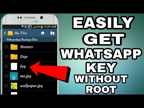 Best Trick To Get Whatsapp Key Without Root On Android