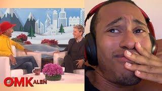 'OMKalen': Kalen Reacts to His First Ellen Appearance