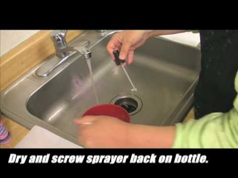 Quick & Easy - How To Clean A Spray Nozzle
