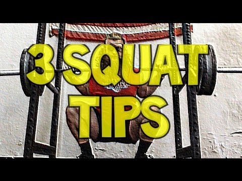 3 Squat Tips: Untamed Strength