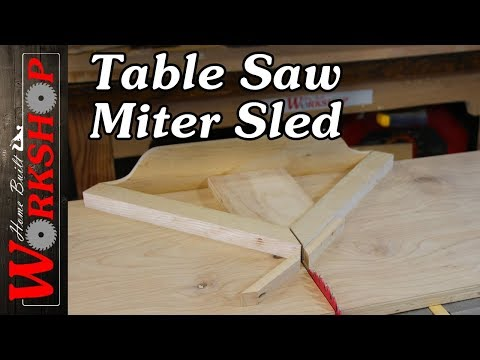 How to build a Miter Sled