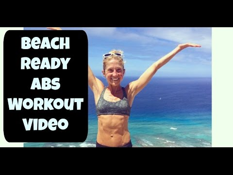 Beach Ready Abs Workout! Feel confident in your swimsuit in 10 minutes!