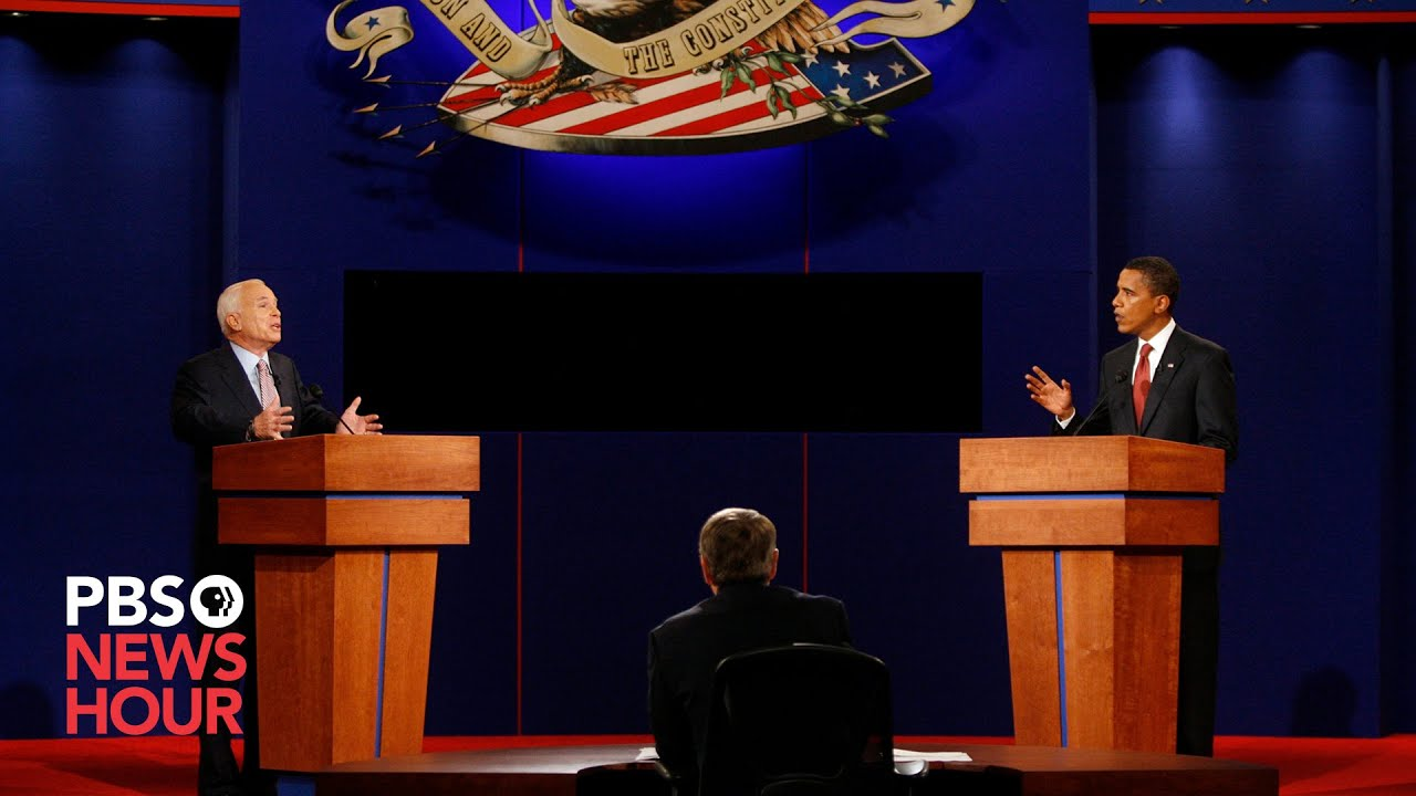 McCain vs. Obama: The first 2008 presidential debate