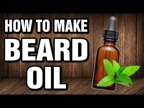 How To Make Beard Oil - (NO DHT BLOCKERS)