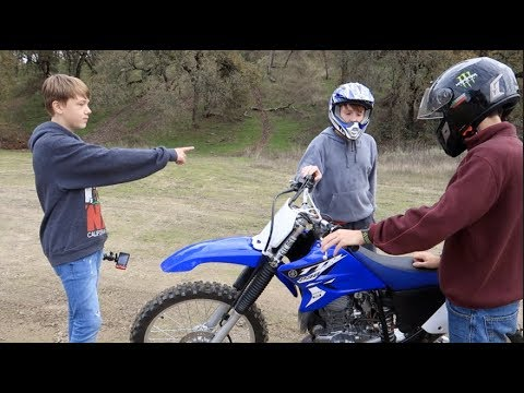 How to ride Manual dirt bike lessons