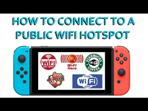 Switch Tips! How to connect your Nintendo switch to a public WiFi hotspot