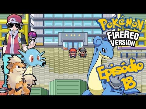 Pokémon Fire Red #18 - MASTERBALL / LAPRAS / Silph Company