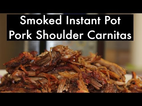Instant Pot Mesquite Smoked Pork Butt Carnitas - Pressure Cooker Style