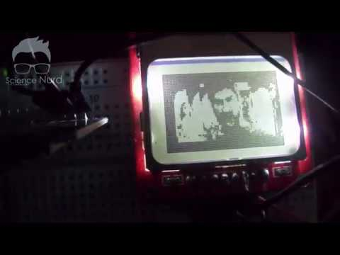 this is sparta on an old nokia screen using the arduino