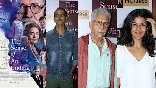 The Sense Of An Ending Movie Screening | Naseeruddin Shah, Nimrat Kaur
