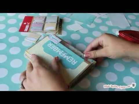 Make a Chipboard Mini Album