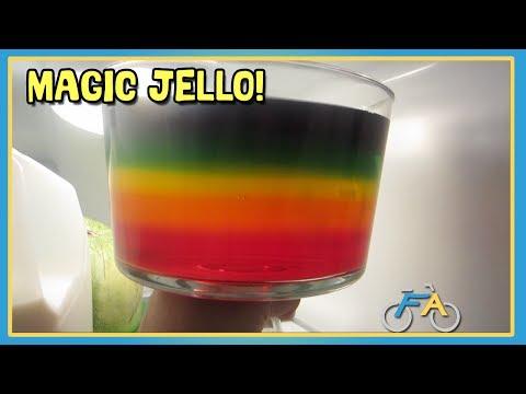 MAGIC RAINBOW JELLO