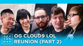 Cloud9 LoL Season 3 Reunion (Part 2) | Off the Map - HTC Esports