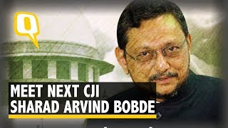 Meet Justice SA Bobde, the Next Chief Justice of India | The Quint