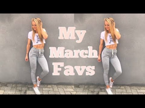 My March Favorites| Food, Apparel, Supplements and More