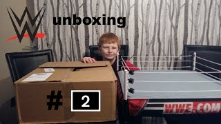 wwe toys . unboxing 2