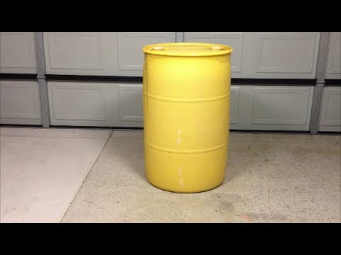 How  To Open A 44 Gallon Drum Cap Without A Drum Wrench